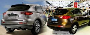 chińskie podróbki aut, chińskie auta, auta z chin